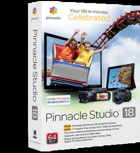 GoPro editing software - pinnacle studio