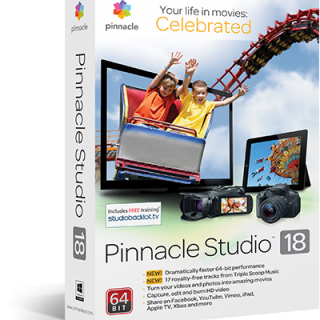 go pro editing software Pinnacle Studio